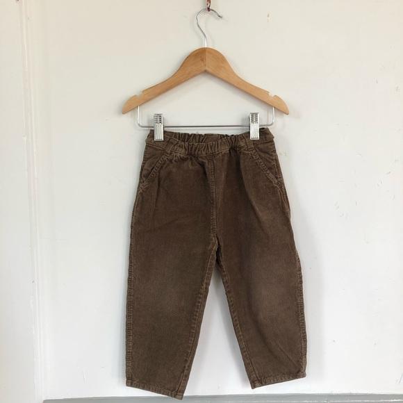 8c9ed4f685 🥄GUC- Baby Boys Brown Corduroy Pants